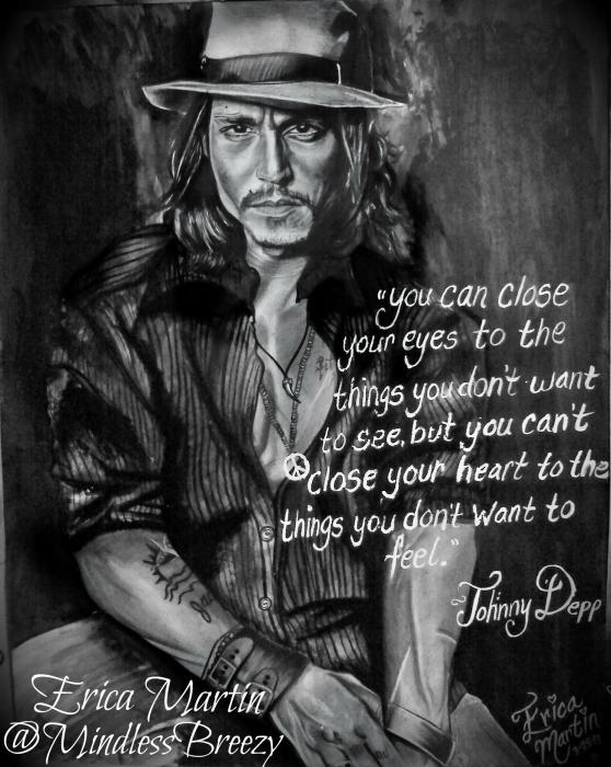 Johnny Depp by EricaMartin